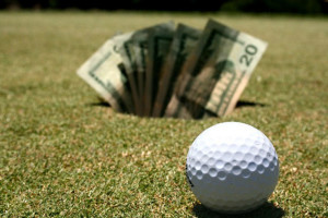 golf and gambling